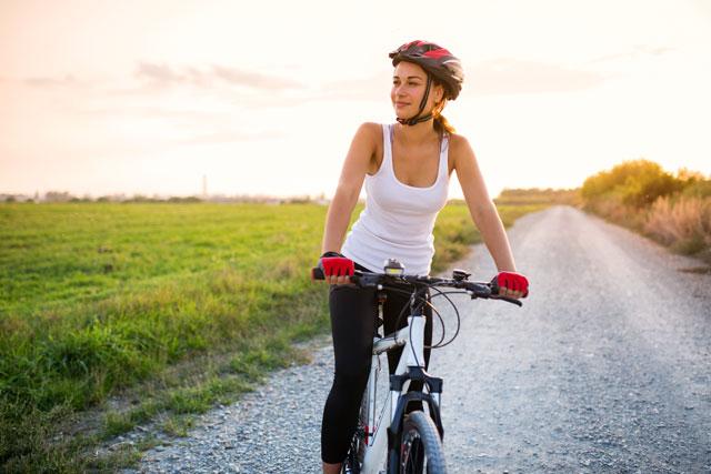 Figur durch Radfahren