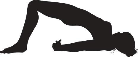 Schulterbrücke Yoga