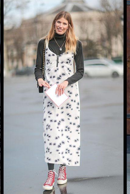 So stylst du dein Slip Dress im Herbst