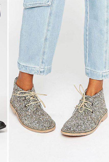 Diese Glitzer-Schuhe lassen unser Herz höher schlagen