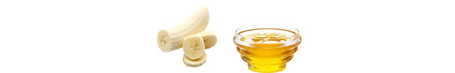 Bananen-Honig-Maske