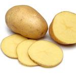 Beauty Hack Kartoffelscheiben