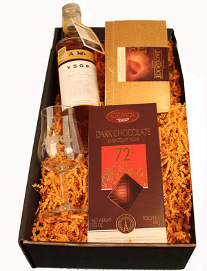 Cognac Geschenkset