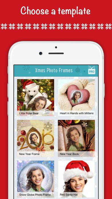 Weihnachten Foto Rahmen App