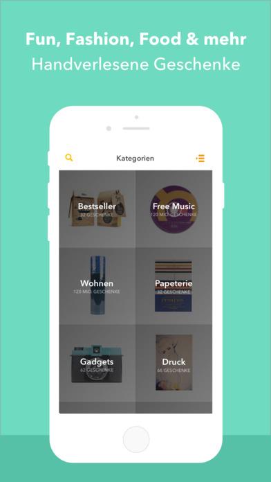 Geschenk-Ideen Joidy App