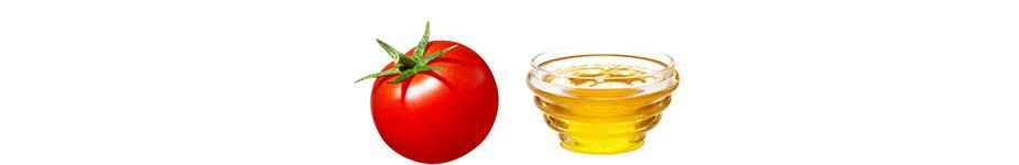 Tomaten-Honig-Maske