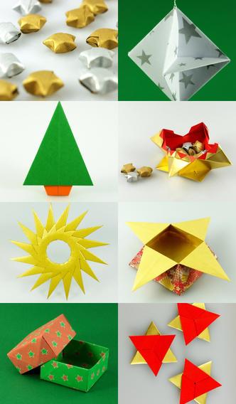 Weihnachts Origami App