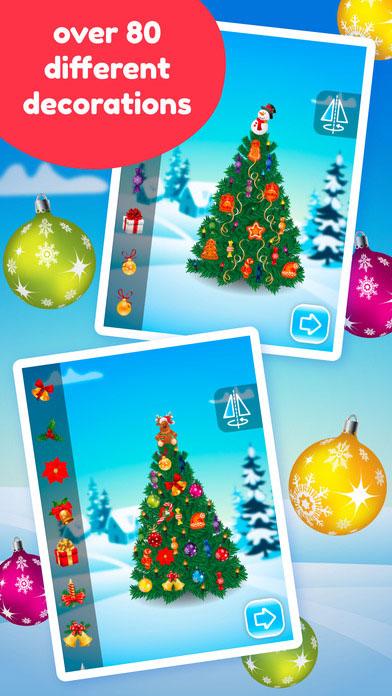 Weihnachtsbaum schmücken App