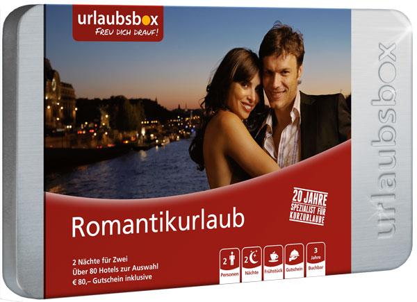Romantik Urlaubsbox