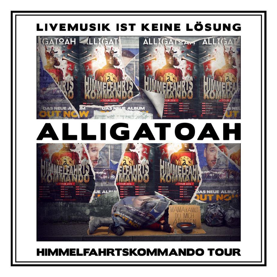 Livemusik Ist Keine Lösung von Alligatoah