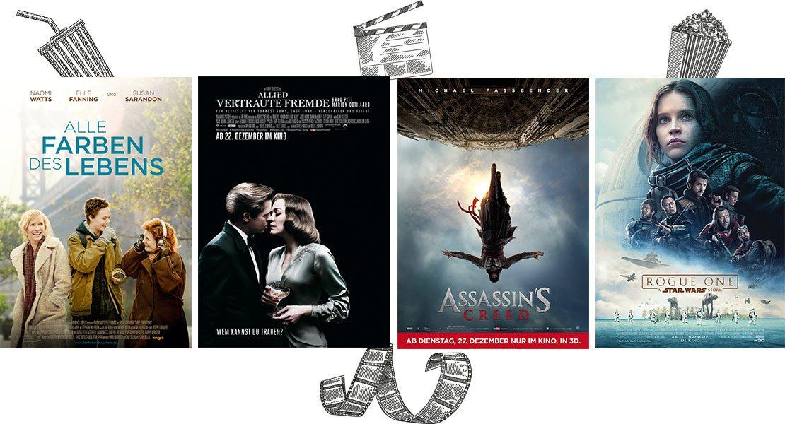 Kinotipps im Dezember 2016