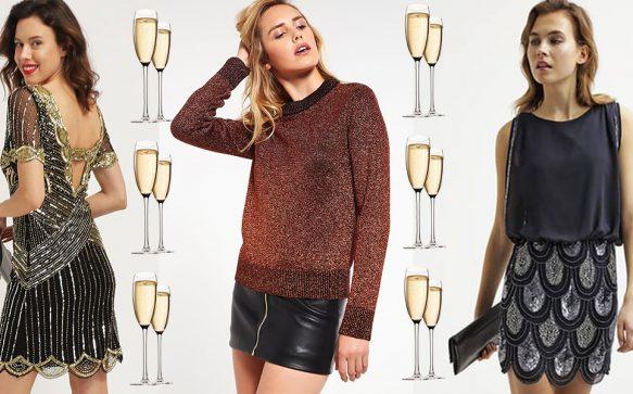 Let's Sparkle! Diese Silvester Outfits sorgen für einen glänzenden Auftritt