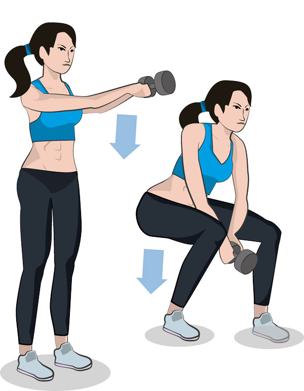Dumbbell Swing