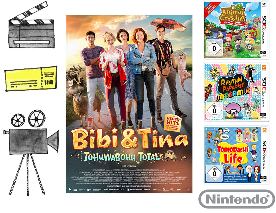 BIBI & TINA – TOHUWABOHU TOTAL Gewinnspiel