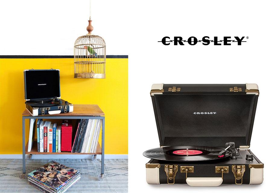 """Plattenspieler """"Executive"""" von Crosley"""