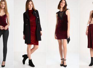 Modetrend roter Samt