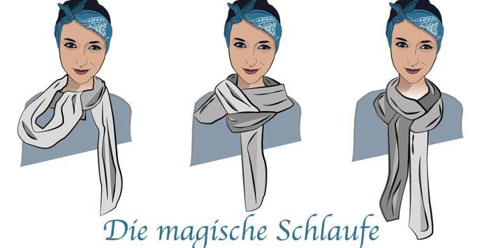 Wirf dich in Schal(e)!  6 kreative Arten, einen Schal zu binden