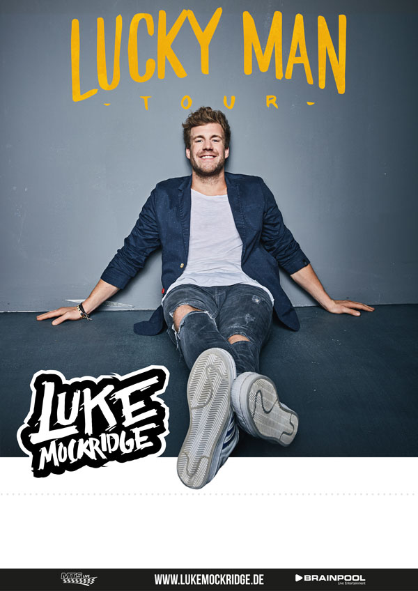 Lucky Man Tour Plakat