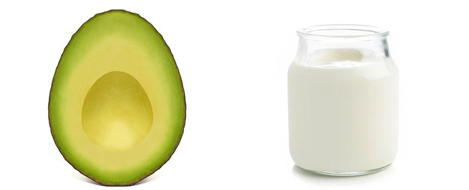 Avocado-Joghurt-Jojobaöl-Haarkur