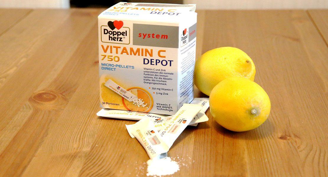 Produkttest: Vitamin C 750 Depot von Doppelherz im Check!