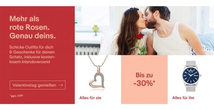 Unsere Valentinstag Geschenkideen mit eBay
