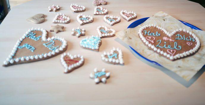 Süßes zum Valentinstag:  Lebkuchenherz selber backen