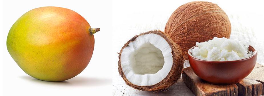 Mango-Kokos-Haarkur