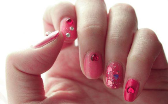 Die schönsten Nail-Designs  zum Valentinstag