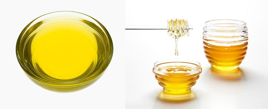 Olivenöl-Haarkur