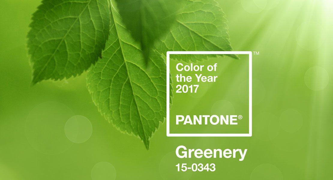 Green, Greener, Greenery! Starte mit der Pantone Farbe des Jahres 2017 in den Frühling