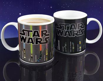 Farbwechsel-Tasse Star Wars Lichtschwert