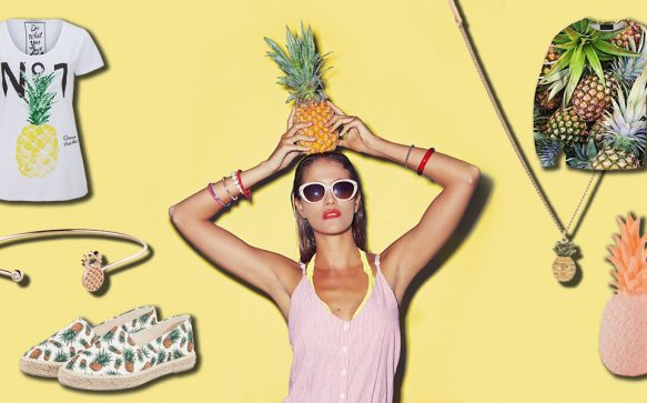 Dies, das, Ananas – Pineapples im Trend-Check