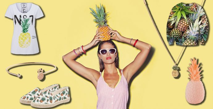 Dies, das, Ananas – Pineapples im Trend-Check
