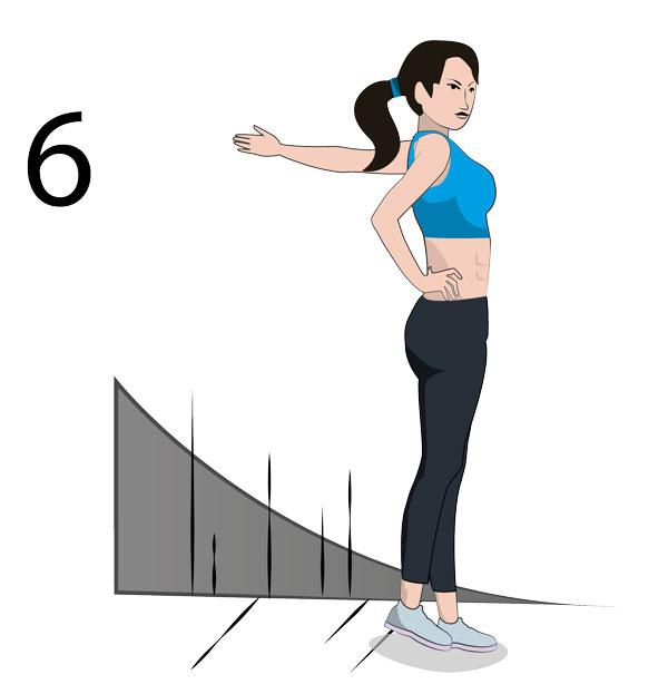 Brust Stretching