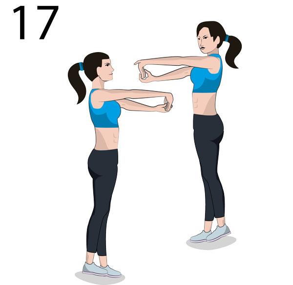 Handgelenke Stretching