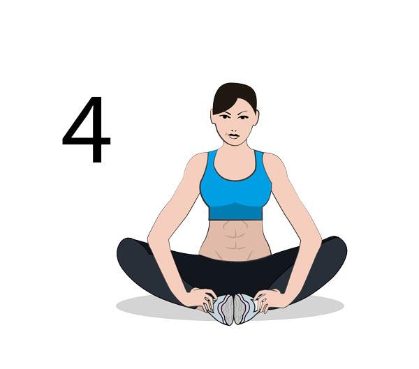 Innenseite Oberschenkel Stretching