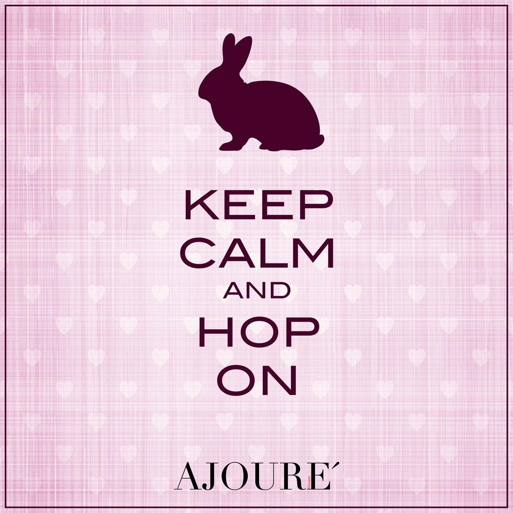 KEEP CALM AND HOP ON