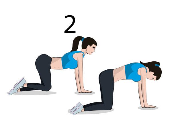 Rücken Stretching
