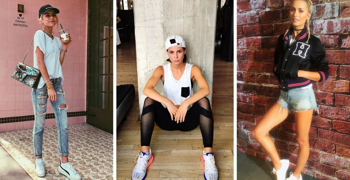 Sporty-Chic: Diese sportlichen Street Style Looks begleiten uns jetzt durch den Sommer
