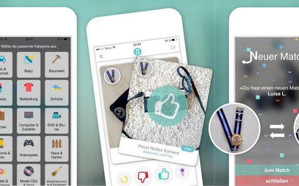 Swapper:  Die neue Tinder-App für Gebrauchtes