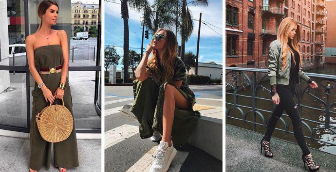 Trend-Farbe Khaki: Hole dir jetzt die schönsten Teile der Saison in deinen Kleiderschrank