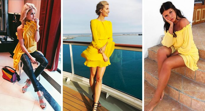 Primrose Yellow Sommer Trend 2017