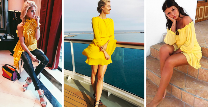 Primrose Yellow – Trägst du schon die Trendfarbe des Sommers 2017?