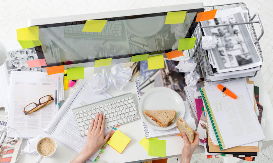 Die Chaos-Queen Schreibtisch