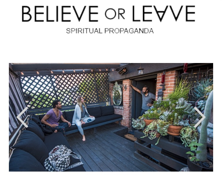 Believe or Leave Meditation