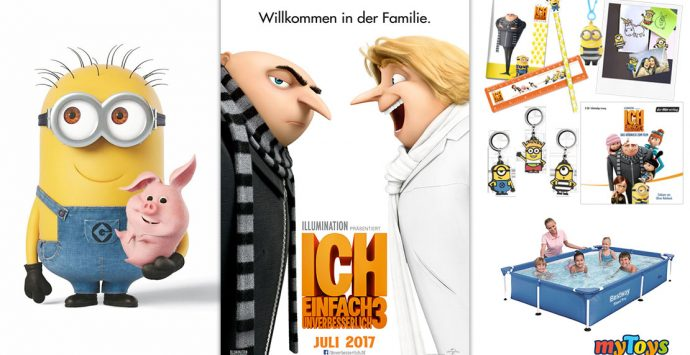 Gewinnspiel zum Kinostart von ICH – EINFACH UNVERBESSERLICH 3