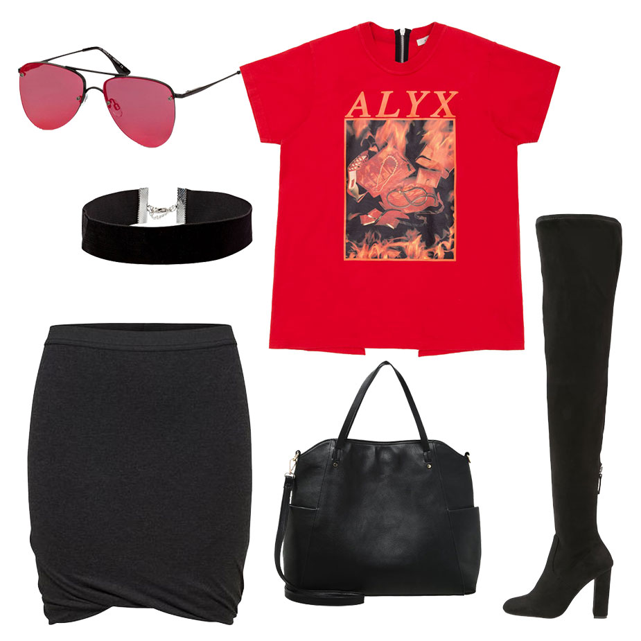 Glam Rock Street Style 4