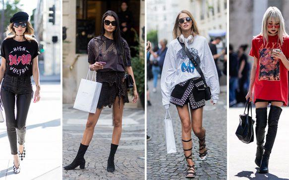 Die neuen Street Styles: 4 x Glam Rock pur!