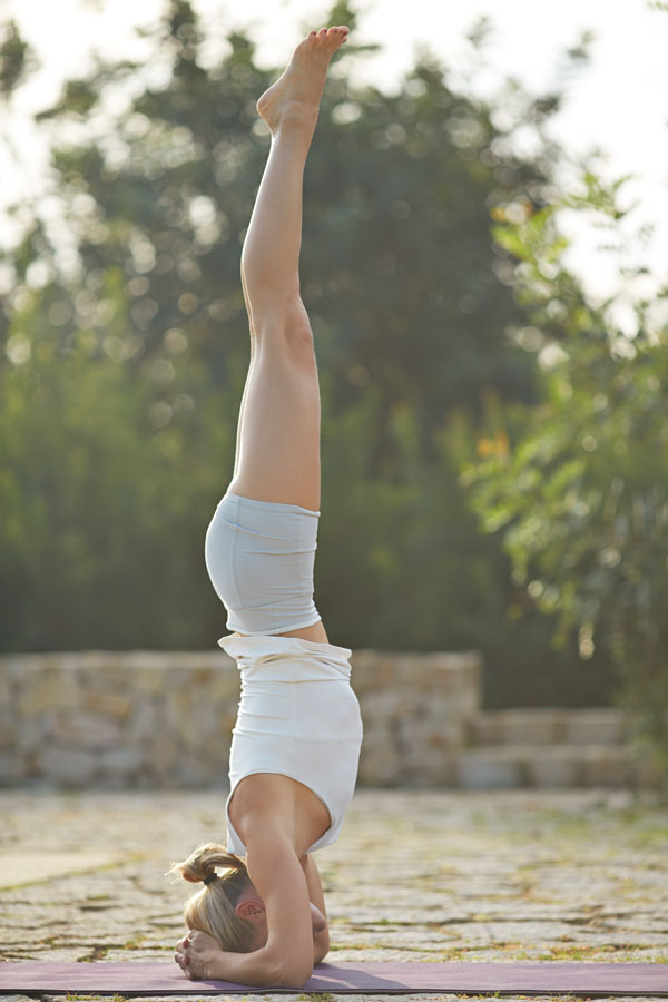 Yoga Kopfstand