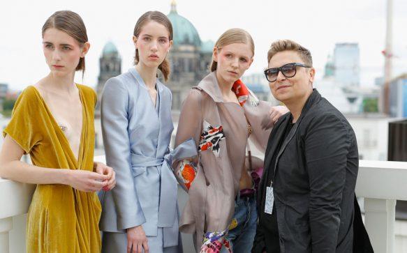 In luftiger Höhe: Dawid Tomaszewski Spring/Summer 2018 Kollektion